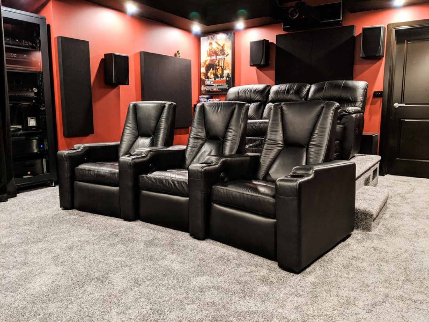 Photo of Australian home theater.