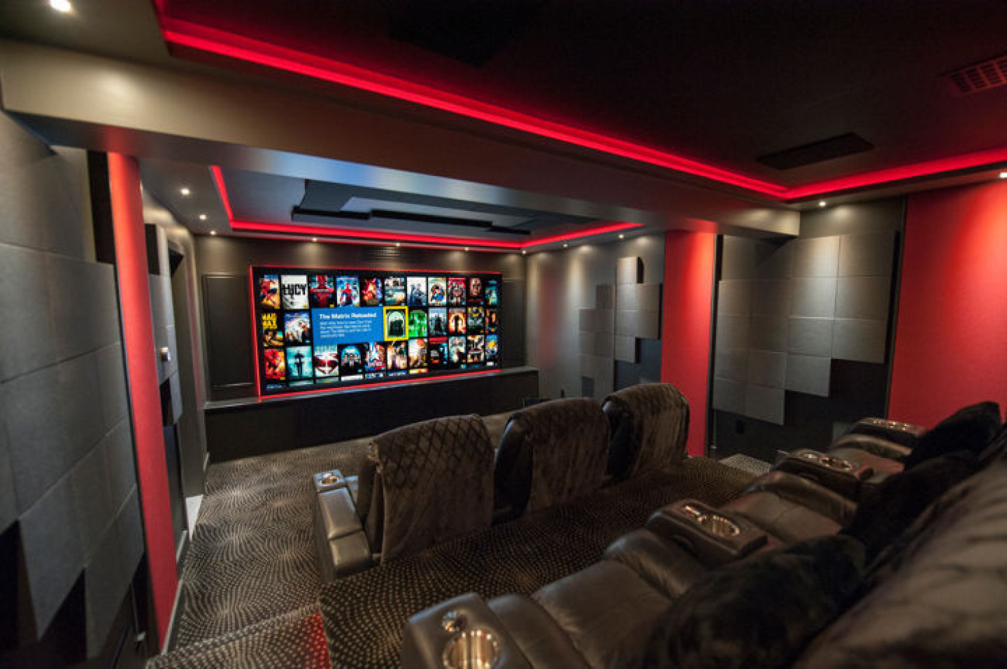 Photo of final home theater