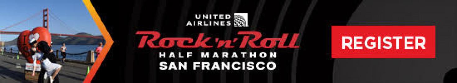 Half marathon in SF