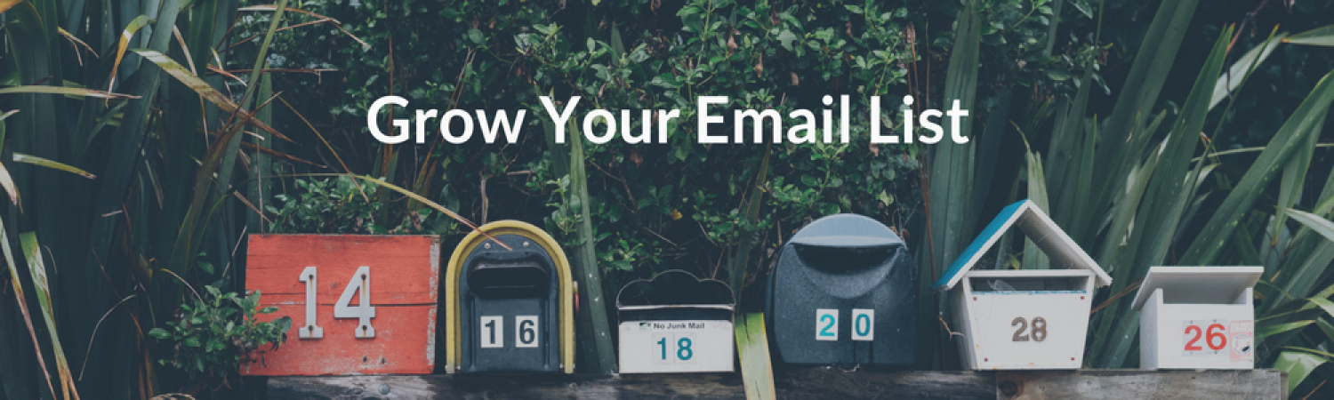 Resources On Growing An Email List