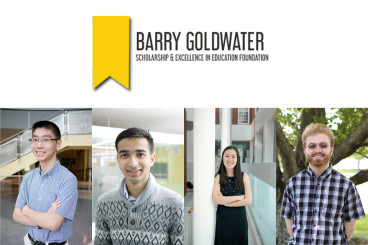Four UMD Students Named 2018 Goldwater Scholars