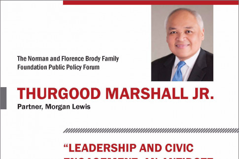 April 10: Brody Forum - Leadership and Civic Engagement: An Antidote for Divisive and Tribalistic Times?