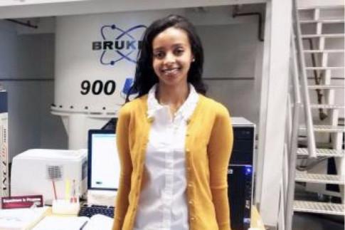 IBBR Graduate Student Receives Dr. Mabel S. Spencer Award