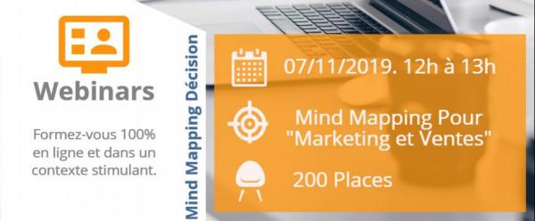 Webinar Mind Mapping pour le Marketing Communication et Ventes