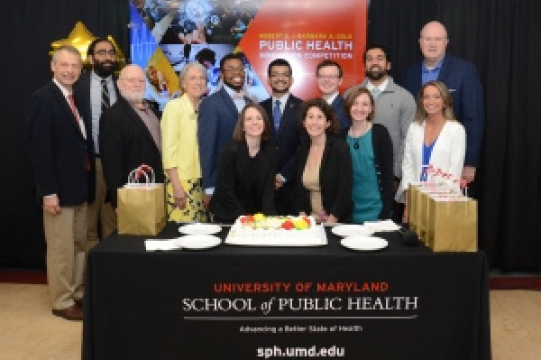 Two winners chosen for the first annual Gold Public Health Innovation Award