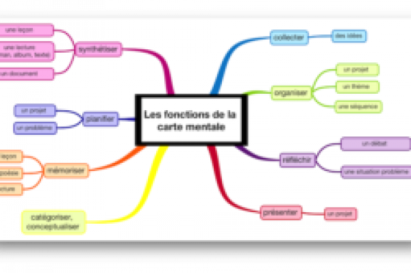 Carte Mentale p savoirs formels et métacognitionour apprendre