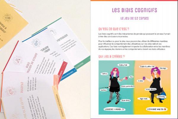Cartes à jouer pour déjouer les biais cognitifs qui poussent de mauvaises décisions