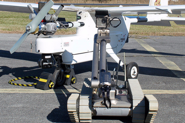 University of Maryland, Navy Control Robot From 6,000 Feet Above Ground