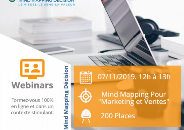Webinar Mind Mapping Gratuit Spécial Marketing Ventes