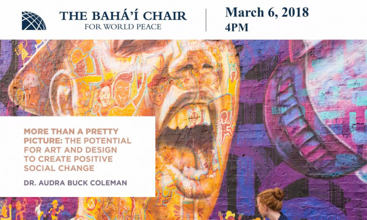 March 6: More Than a Pretty Picture: The Potential for Art and Design to Create Positive Social Change